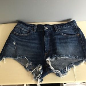 Ralph Lauren High Rise Cutoffs NWOT